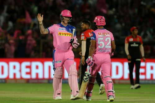 Shreyas Gopal, Buttler star in RR's first win. Picture courtesy: BCCI/iplt20.com