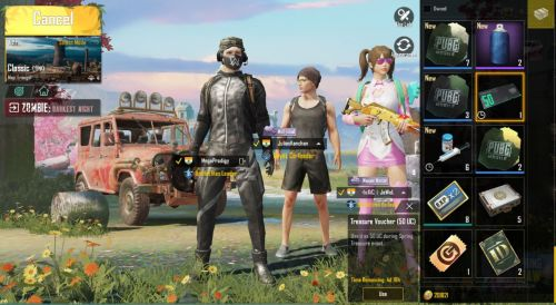 The free 50 UC voucher in PUBG Mobile