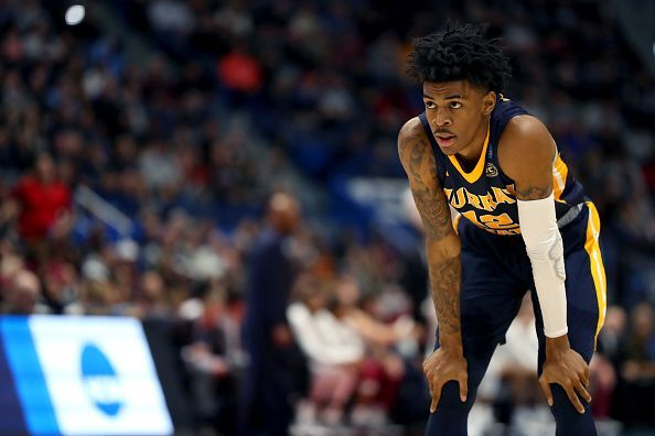 Ja Morant impressed for Murray State
