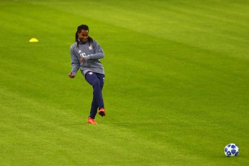 Renato Sanches during an FC Bayern Muenchen - Training Session