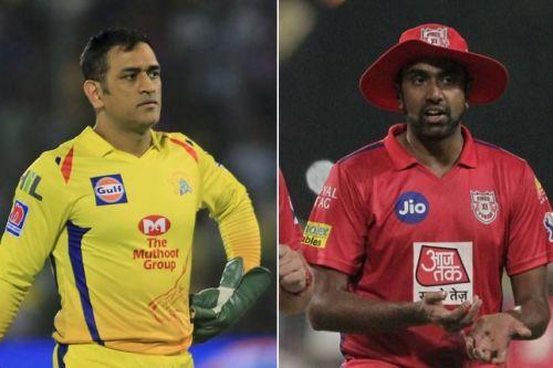 M.S Dhoni and R. Ashwin