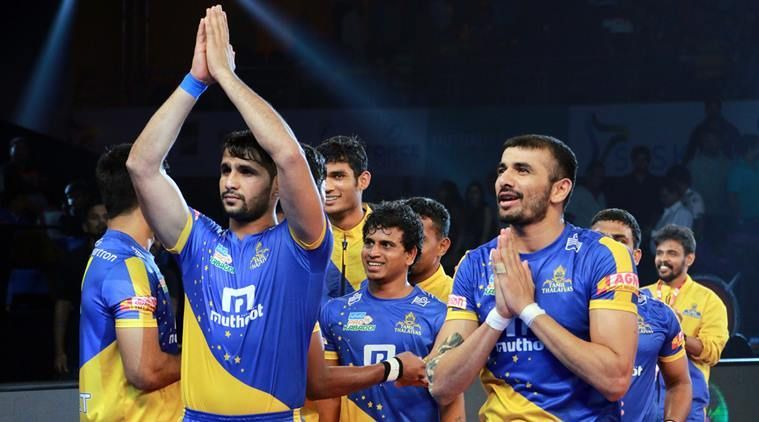 Tamil Thalaivas have the least number of followers amongst the 12 teams
