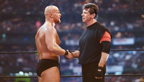 Austin joined forces with Mr McMahon in 2001!