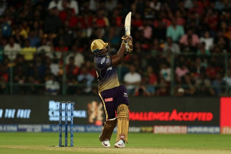 Andre Russell: the hard hitting Giant (Image Courtesy:IPLT20/BCCI)