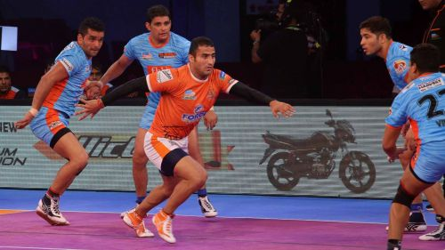 Sandeep Narwal will look to build a strong alliance with Fazel Atrachali