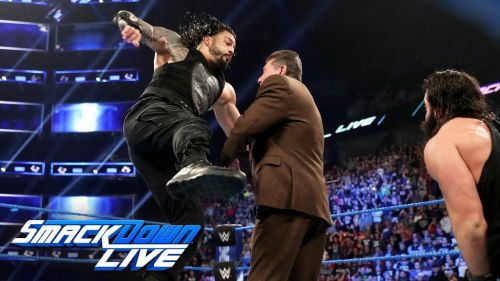 Roman Reigns first feud as a member of SmackDown will be with the Drifter, Elias.