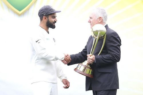 Kohli is the first Indian captain to win a test series in Australia