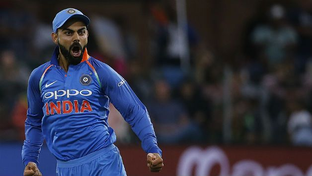 Virat Kohli shoows his aggresions in field
