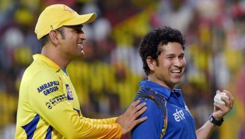 Both Sachin and Dhoni has been their respective franchises since 2008