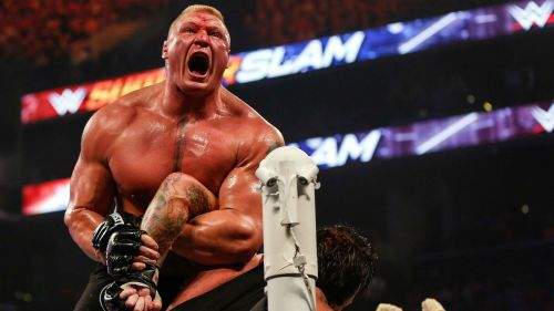 Lesnar has faced some of WWE's biggest ever stars throughout his two runs with the company.