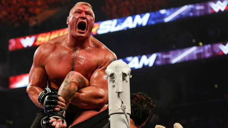 Lesnar has faced some of WWE