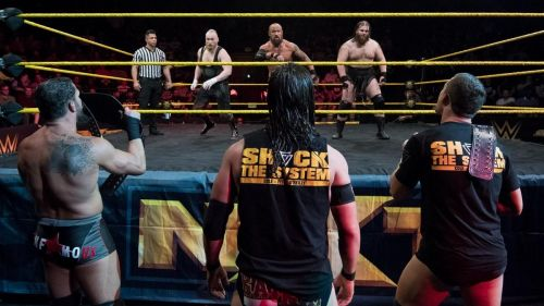 SAnitY and the Undisputed Era waged an epic war over the NXT Tag Team Titles