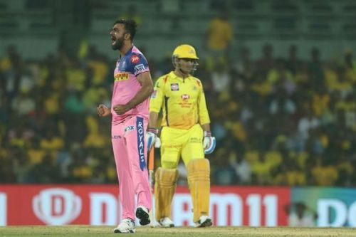 Unadkat hasn't had much to celebrate in IPL 2019 so far