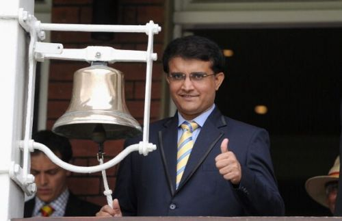 Sourav Ganguly at England v India: 2nd Investec Test - Day Five