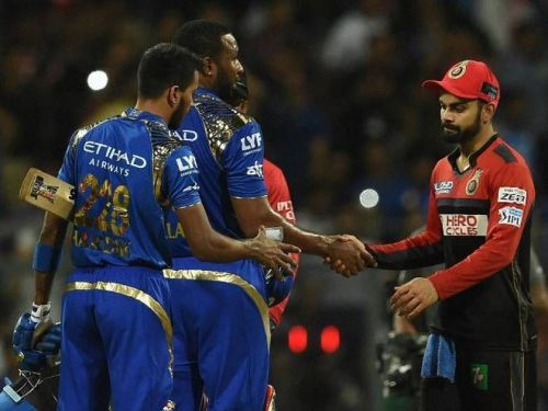 Hardik Pandya's 37* took Mumbai Indians to a 5 wicket win over RCB (picture courtesy: BCCI/iplt20.com)