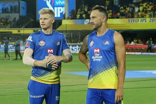 Sam Billings & Faf du Plessis (Picture Courtesy: BCCI/IPLT20.COM)