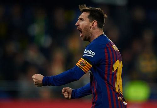 Lionel Messi will be looking forward to running riot when Barcelona take on Manchester United in the UCL