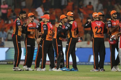 SRH got 2 crucial points against Kings XI Punjab. (Image Courtesy: IPLT20)