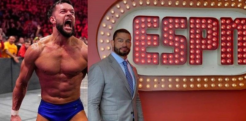 Top WWE Superstars such as Finn Balor (left) and Roman Reigns (right) were a part of the Superstar Shake-Up this year