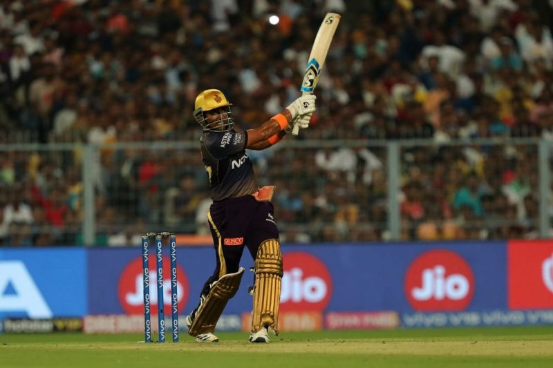 Robin Uthappa, their best batsman after Andre Russell. (Image courtesy: BCCI/iplt20.com)