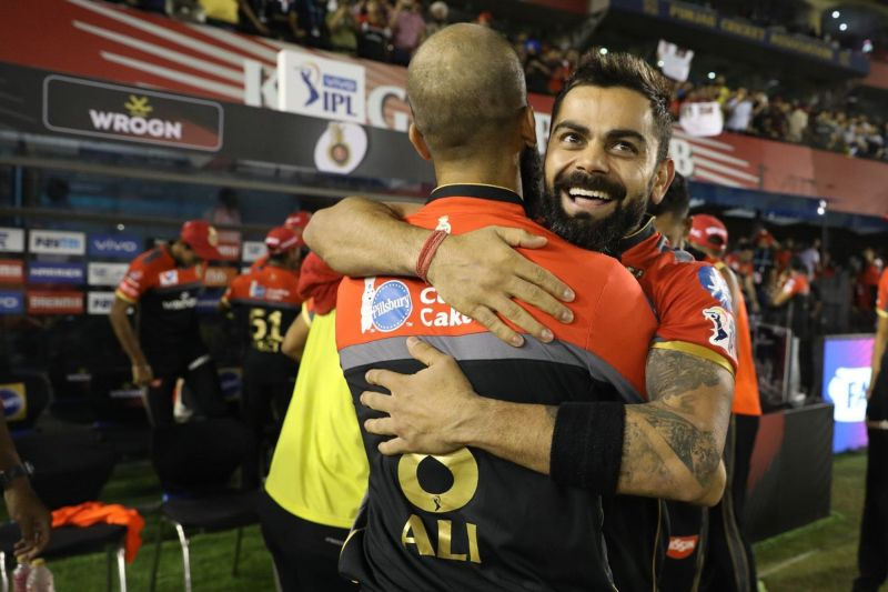 Virat Kohli is all smiles after the win. (Image Courtesy: IPLT20)