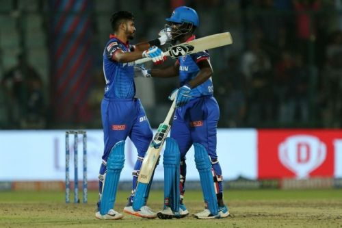 Shreyas Iyer and Sherfane Rutherford (Image courtesy: iplt20.com)