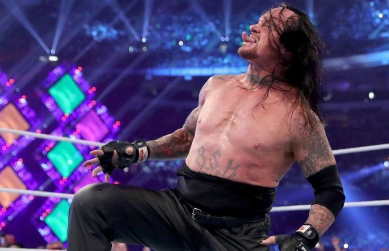 The Undertaker has shone like a bright luminous sun, relegating the other mortals to the background