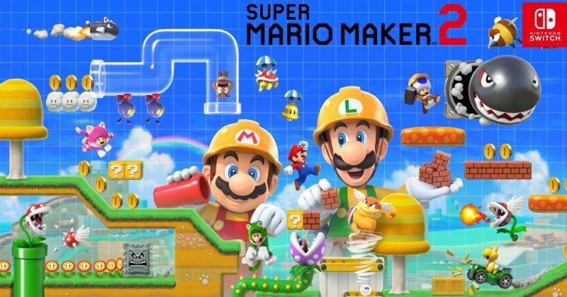 Image result for super mario maker 2