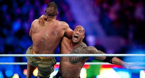 The Rock vs John Cena at WrestleMania 28
