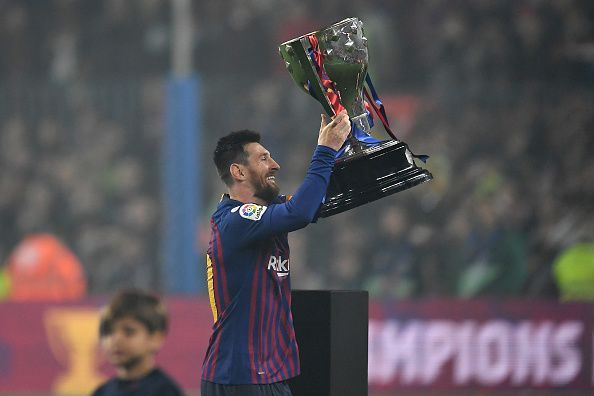 Barcelona lifted the La Liga title this weekend