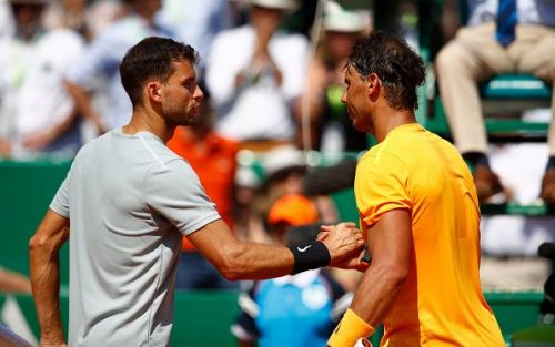 Monte Carlo Masters 2018: Nadal and Dimitrov after their semifinal clash