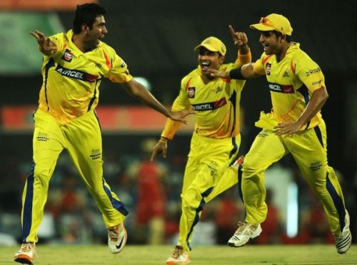 Ashwin got Gayle out for a duck (Image Courtesy: iplt20.com)