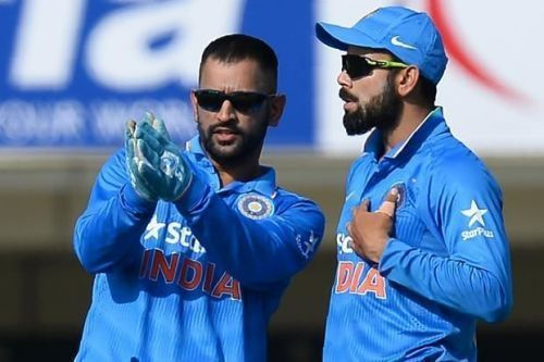Dhoni and Kohli share a very warm relationship on & off the field