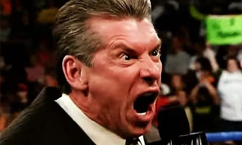 Vince McMahon can't have been happy about this one bit!