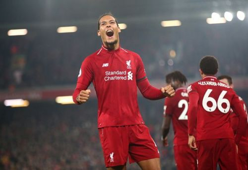 Van Dijk is the most expensive defender in history