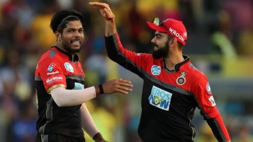 Image result for umesh yadav rcb