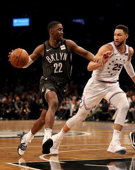 Caris LeVert and Ben Simmons
