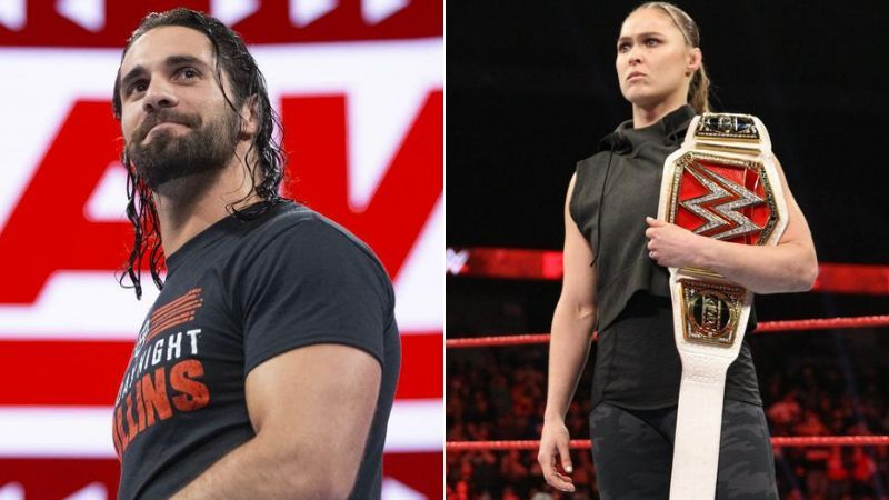 Seth Rollins and Ronda Rousey will be involved in title matches