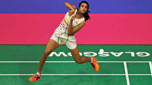 PV Sindhu moved into the next round with a comfortable victory