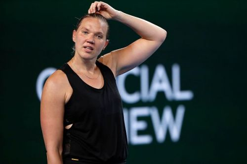 Kaia Kanepi was close to upsetting Simona Halep at this year's Australian Open, and clay is her preferred surface. Opponents might have to watch out for her