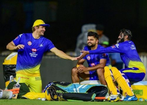 Jadeja Returns to Chennai Super Kings Training