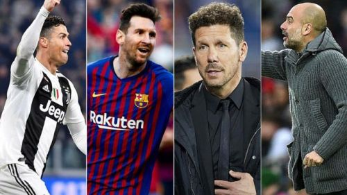 While Messi leads the wage chart in the players' category, Diego Simeone is the highest-paid manager.