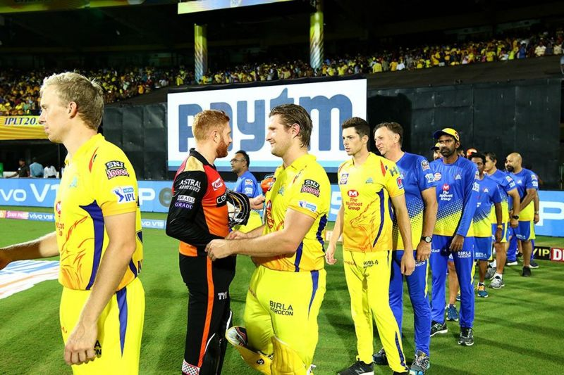 Shane Watson is all smiles after the win against SRH (image courtesy: BCCI/iplt20.com)