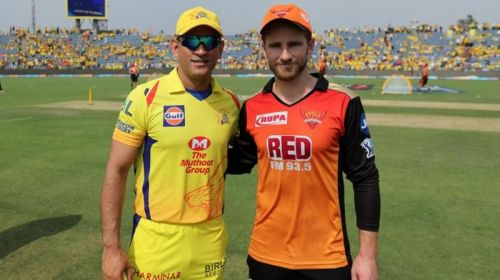 Can SRH stop the mighty CSK? Image Courtesy: IPLT20.com