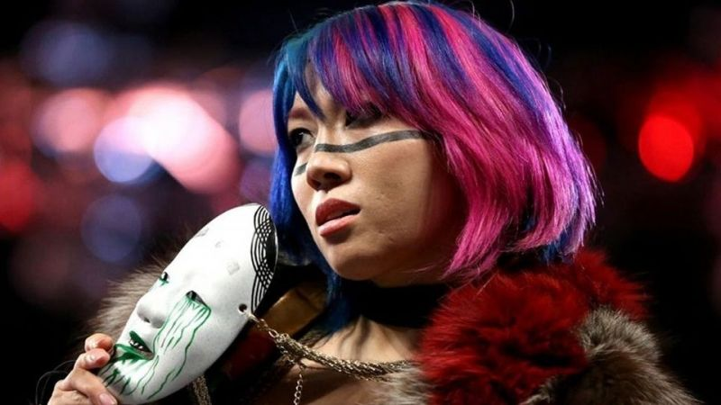 Image result for wwe asuka and stephanie
