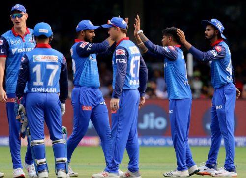 Team 'Delhi Cappitals'.
