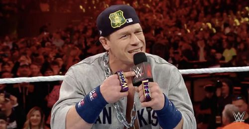 John Cena brought The Doctor Of Thuganomics gimmick back at WrestleMania 35