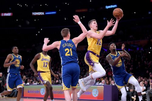 Moe Wagner has impressed with his offense and range when given playing time.