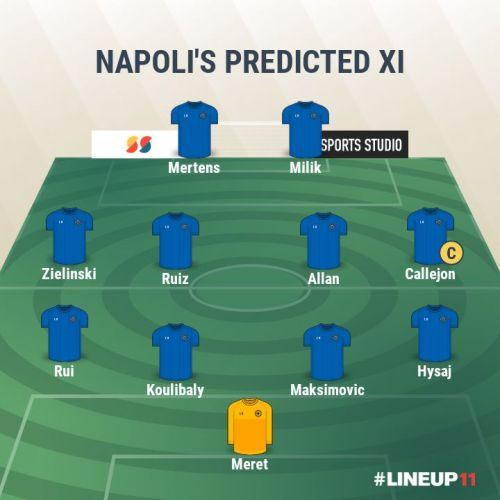Napoli- Predicted XI