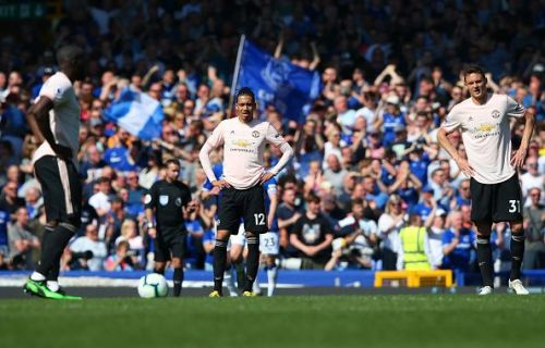 Manchester United failed to make a single mark at Goodison Park against Everton.
